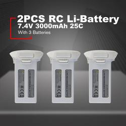 RC Li-Battery 7.4V 3000mAh 25C Lithium Battery Rechargeable Battery For JJR/C X6 RC Drone RC Toys RC Drone Spare Parts