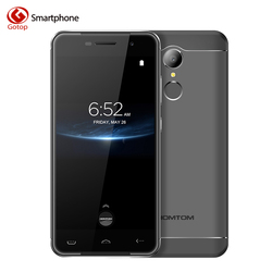 Original Homtom ht37 Pro MTK6737 Quad Core Cell Phone 5.0 Inch Android 7.0 Smartphone 3GB RAM 32GB ROM Fingerprint Mobile Phone