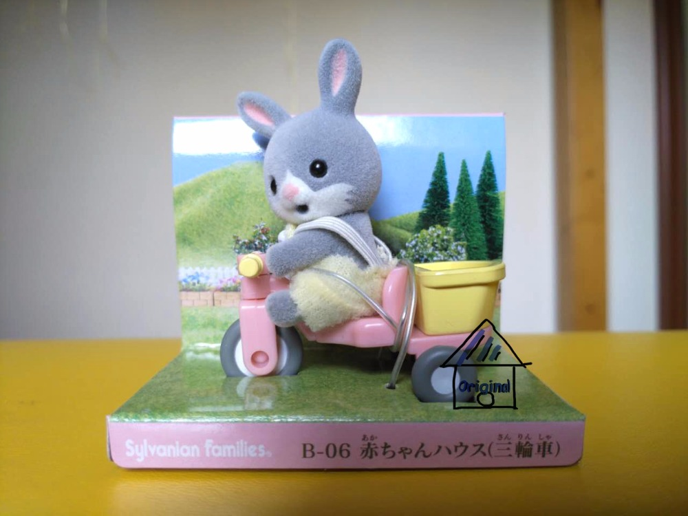 Aliexpresscom Comprar Sylvanian Familia de gris de Conejo