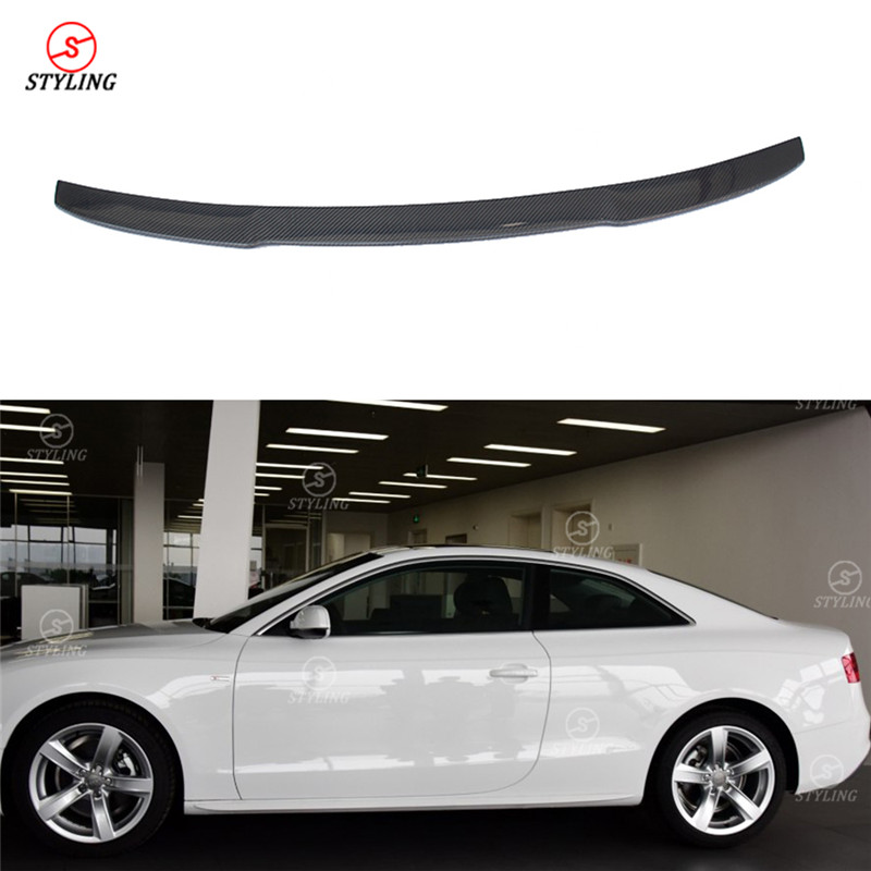 For Audi A5 Coupe Spoiler V Style 2010 2011 2012 2013 2014
