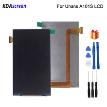 Original For Uhans A101 A101s LCD Display Assembly Phone Parts Screen Free Tools