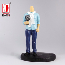 Cake Topper creative gift customized personalized custom avatar reality doll custom clay dolls fixed resin body DR628