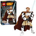 Figuras Super Heroes Star Wars Obi-Wan Kenobi Robot Hogar Lepin Compatible con legoe Montado Bloques de Construcción Modelo Conjunto juguetes