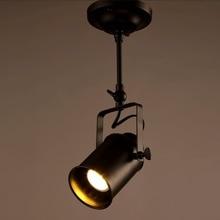Настенный подвесной светильник Точечный светильник s домашний декор для гостиной светильник ing Лофт бар магазин одежды потолочный светильник черный