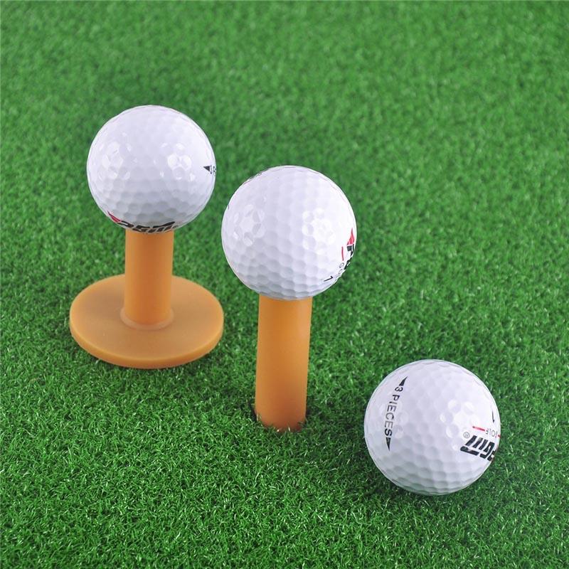 43 54 70 80mm Pgm Rubber Golf Tee Holder Training Practice Tee Mat