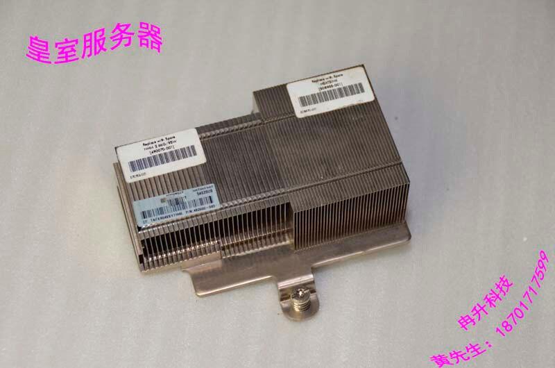 FOR HP 460C G6 G7 Blade Server heat sink 508955-001 508766-001 блок питания 4parts lac hp03 hp 18 5v 6 5a 7 4x5 0mm 120w