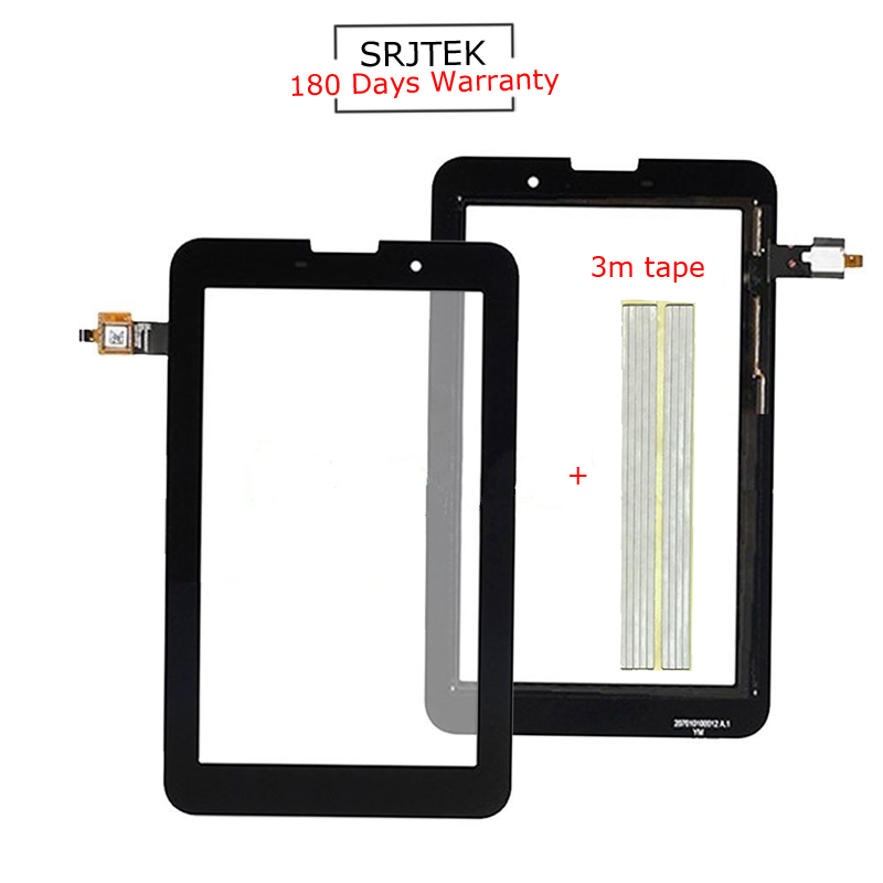 For New Lenovo A3000 A3000-H Replacement Touch Screen Digitizer Glass 7-inch Black White replacement touch screen digitizer glass for lg p970 black