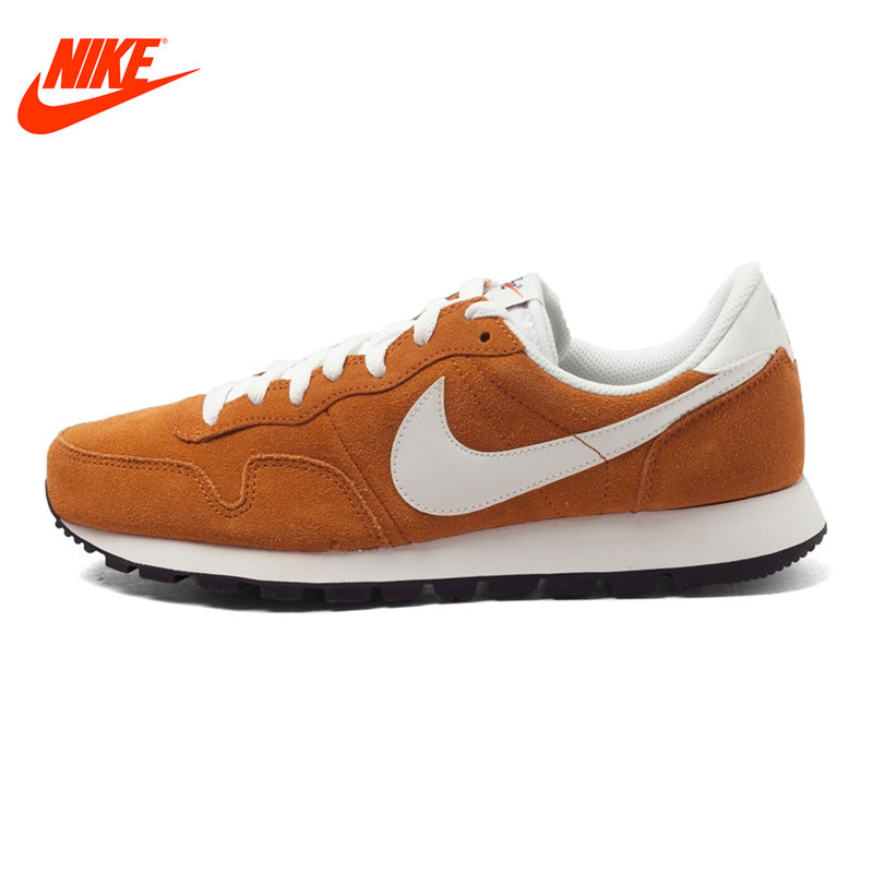 Original NIKE Leather Waterproof AIR PEGASUS 83 Men's Low Top Running Shoes Sneakers