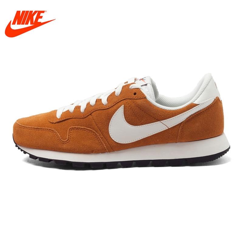 Original NIKE Leather Waterproof AIR PEGASUS 83 Men's Low Top Running Shoes Sneakers low top velcro sneakers