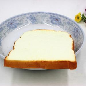 Image 3 - 1Pc Hot 14Cm Jumbo Zachte Geur Gesneden Brood Toast Kids Speelgoed Hand Kussen Gift Decoratie Ambachten Miniatuur Kids keuken Speelgoed