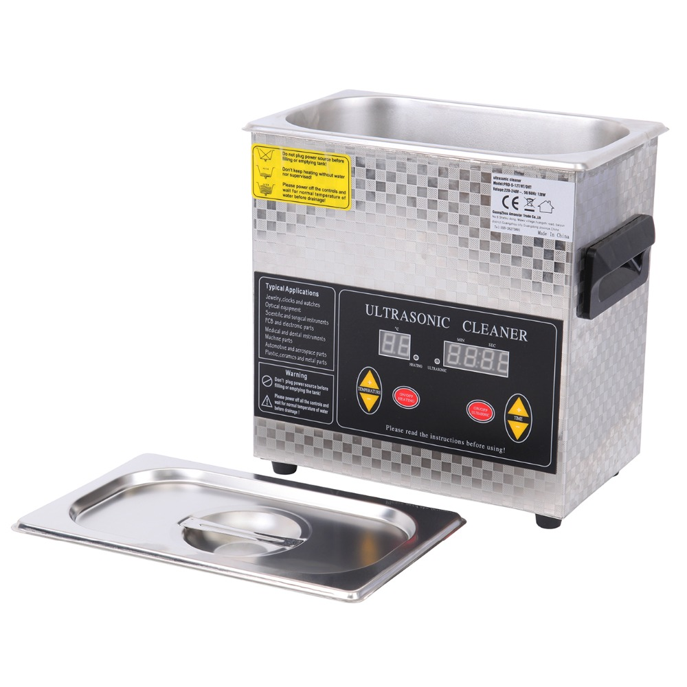 3L Digital Ultrasonic Cleaner Heater Heating Bath Timer Cleaning Machine