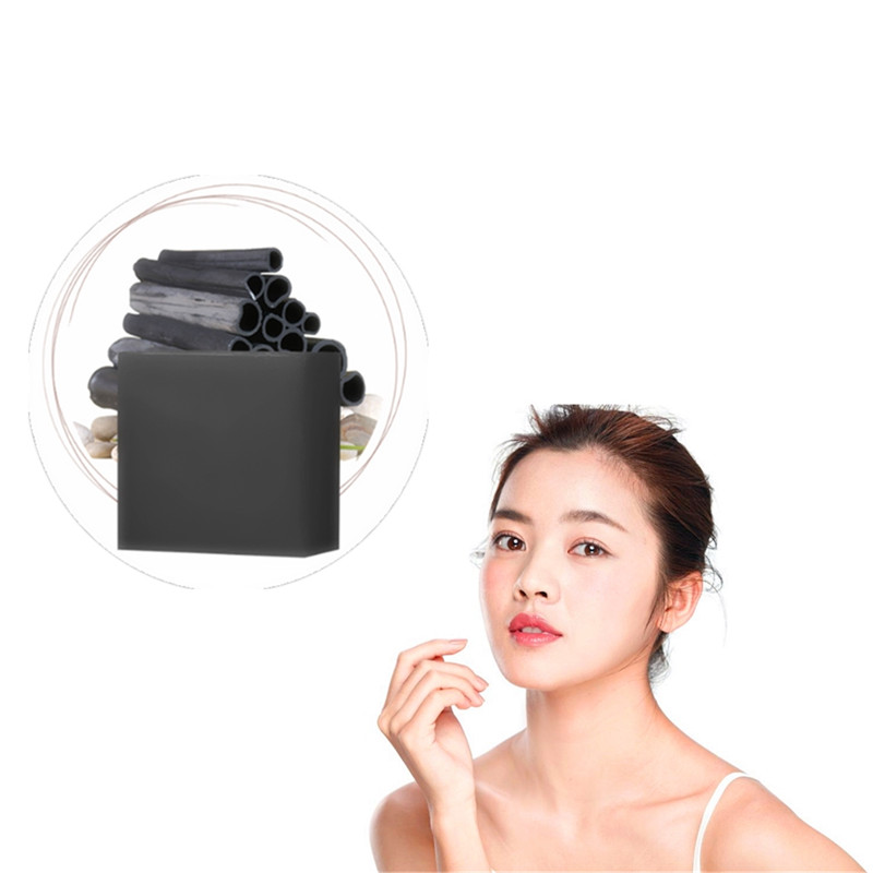 DISAAR Pure Bamboo Charcoal Pores Cleaning Lasting Moisturizing Acne Pimples Scar Repair Herbal Medicine Soap Whitening Firming