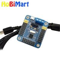 HK POST FREE Mini USB 16 Channel Servo Controller Board For Robot Servo Motor Drive Shield