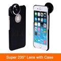 Высокое Качество Камеры Линзы Супер 235 Градусов Съемный Рыбий Глаз Объектив Рыбий Глаз для iPhone 6 6 S 7 Плюс 4 4S 5 5S SE Телефон случаях