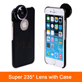 High Quality Camera Lenses Super 235 Degree Detachable Fish Eye Fisheye Lens For iPhone 6 6S 7 Plus 4 4s 5 5s SE Phone Cases