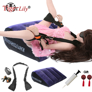 6pcs Sex Swing Chairs Strap Adults Sex Furniture Adult Games Hanging Swing Couples sex position outdoor Sex Helpful mattress