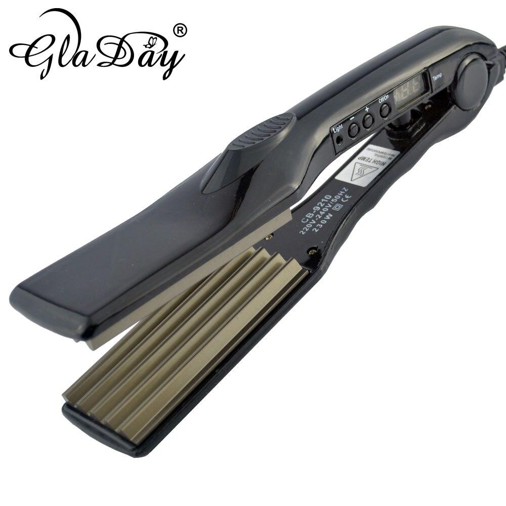 Plancha de pelo de alta calidad onduladora onduladora plancha de pelo - Cuidado del cabello y estilo
