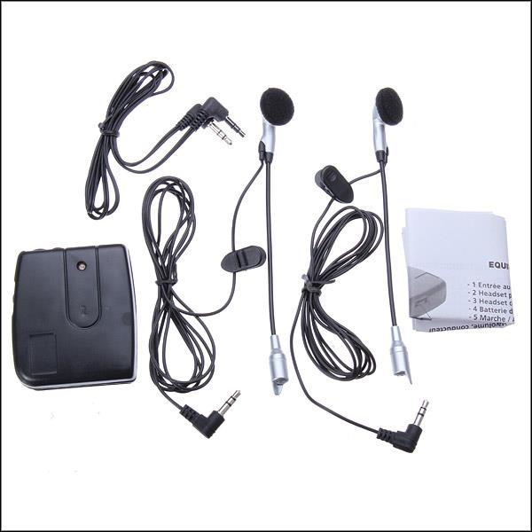 Headset-Intercom Motorcycle-Helmet Motorbike 100pieces Dhl for Travel-Support MP3 Ems