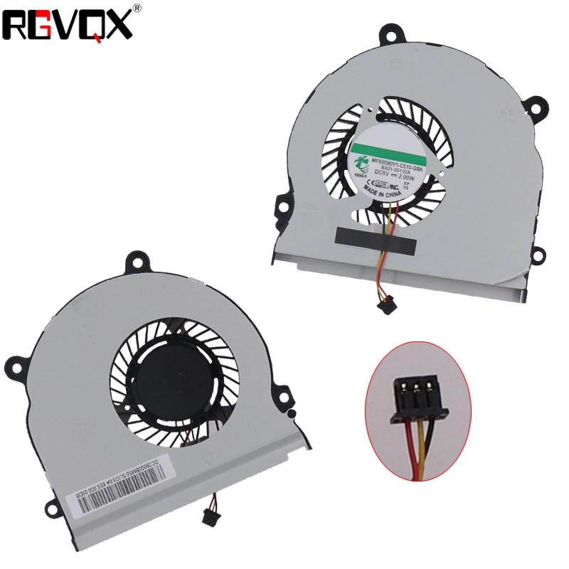 Novo Ventilador De Refrigeração Portátil Para SAMSUNG NP355V4X NP355V4C NP350V5C NP355E4C P/N KSB06105HA MF60090V1-C510-G9A Cooler Radiator