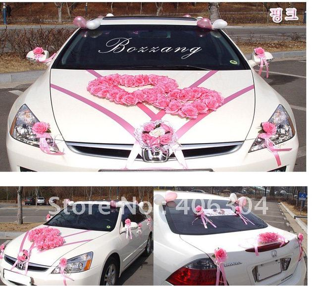 Free Shipping By Ems To Most Countries 1 Set Lot Wedding Car
