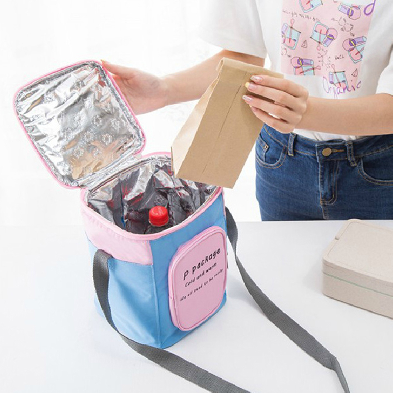 Cooler Bag Waterproof Thermal Bag Oxford Fabric Aluminum Foil Lining Thickened Food Refrigeration Ice Pack Lunch Bag For Travel