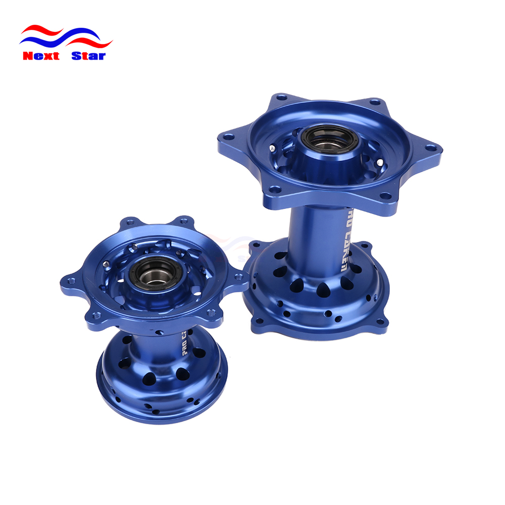 Motorcycle CNC Front Rear Wheel Hub For CR125 CR250 2000-2014 CRF250R CRF450R CRF250X CRF450X CR 125 250 CRF 250R 450R 250X 450X crf250r 250x 450r 450x dirt bike motocross enduro modify cnc billet part brake reservoir cover brake hose clamp engine plugs kit
