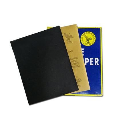 Sanding Paper Abrasive Waterproof Abrasif Papier De Verre Carta Vetrata Grit P80-2000 Wet Dry Sandpaper Sheet Polishing