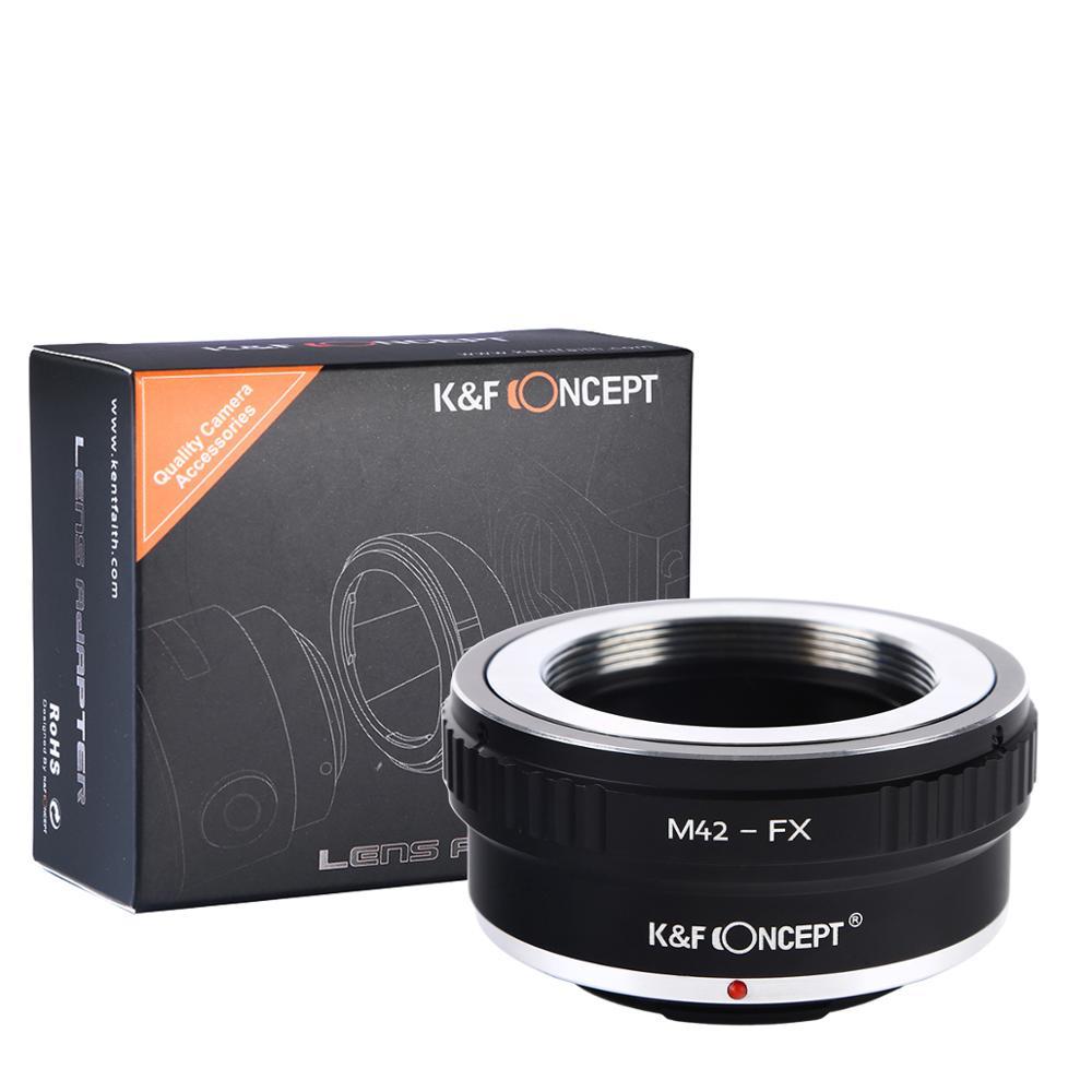 K & f concept adapter для винтовой камеры m42 к fujifilm fx