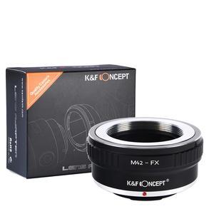 Image 1 - K&F Concept Adapter for M42 Screw to Fujifilm FX XPro2 X T2 X M2 camera  X T20  X T3  X T30