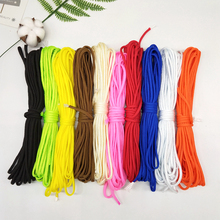 5Meterlot 7 stand Cores Paracord Dia4mm for Camping Rope Hiking Clothesline Survival Parachute Cord Lanyard Camping Climbing