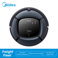 Midea Smart Robot Vacuum Cleaner MR04 2in1 for Vacuum&Mop,Map Navigation,Powerful Suction,UV Lamp with 4 Modes,Robot Aspirador