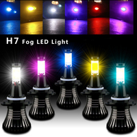 2pcs Lot Car LED Front Fog Lamp Flashing Light Strobe Bulb H7 Led Bulb Car Fog
