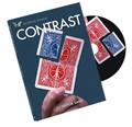 Free shipping New arrival  Contrast (All and Gimmick) by Victor Sanz and SansMinds - close up card magic trick