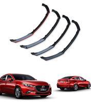 ABS Car Front Bumper Lip Spoiler Diffuser Cover Fit For MAZDA 3 M3 Axela Sedan 2014 2015 2016 2017 2018