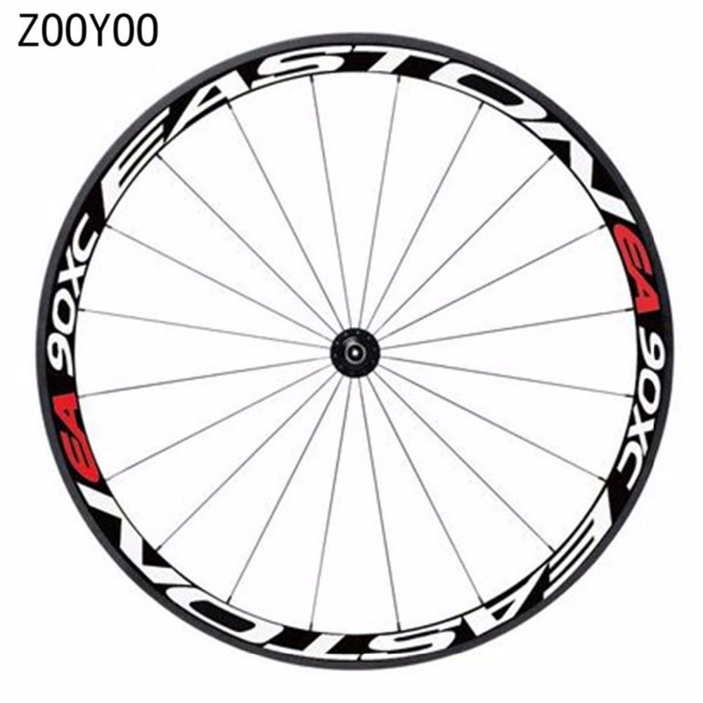 1 साइड साइकिल पहिया रिम्स स्टीकर प्रकाश चिंतनशील Decal बाइक स्टीकर साइकिल सुरक्षित रक्षक 26er 27.5er बाइक सहायक उपकरण