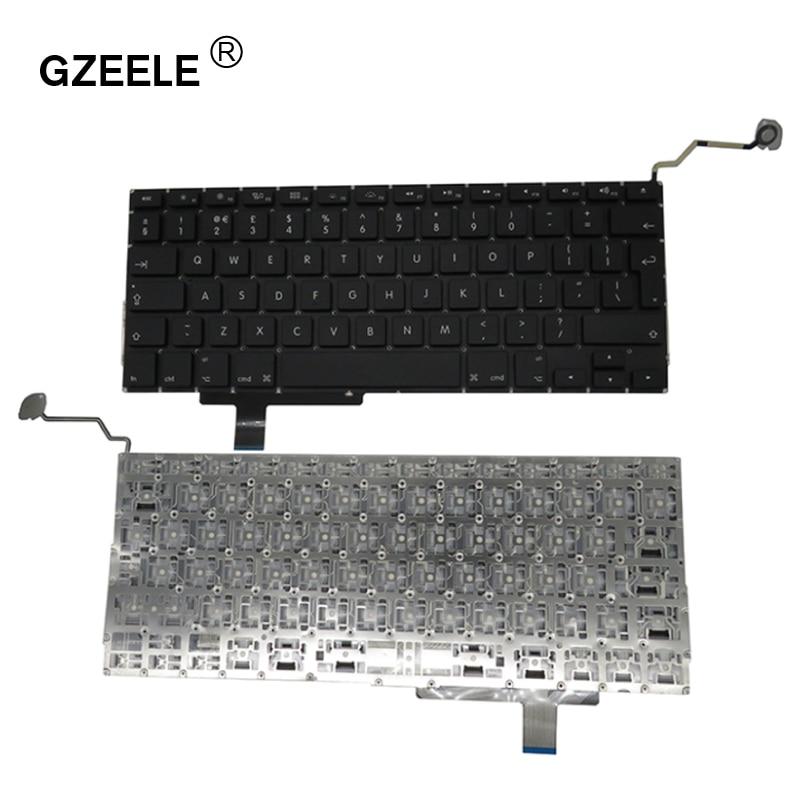 GZEELE UK Laptop keyboard For Apple MacBook Pro A1297 MC024 MC725 MD311 MC311 MC226 MB064 UK Replace Laptop Keyboard 17 Inch  GZEELE UK Laptop keyboard For Apple MacBook Pro A1297 MC024 MC725 MD311 MC311 MC226 MB064 UK Replace Laptop Keyboard 17 Inch