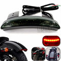 Motorcycle Green Black Rear Fender Edge LED Taillight Tail Light Brake Stop Light For Harley Davidson XL883 XL1200V XL1200X