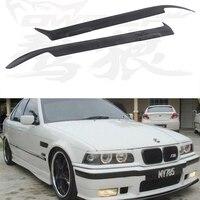 E36 FRP Primer Car Headlight Eyelid Eyebrows Cover Trim Sticker for BMW E36 1990 2000