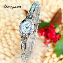 New Watches Ladies Vogue Clock Women Silver Elegant Bracelet Watch Montre Femme Ladies's Wrist Quartz Watch Relojes Mujer 2016