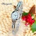 Novos Relógios Das Mulheres Moda Relógio de Pulso das Senhoras Pulseira de Prata Elegante Relógio Montre Femme Mulheres Quartz Watch Relojes Mujer 2016