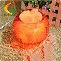 Minimalista moderno moda lâmpada de cristal de sal quarto dimmer lâmpada de cabeceira criativo sala de estar Luzes Livro