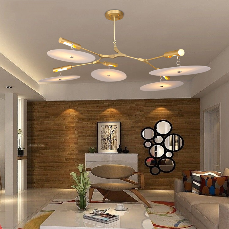 Post Modern Minimalist Bedroom Living Room Lamp Luxury Model House Creative Designers Turn Singles Pendant Light In Lights From Lighting On