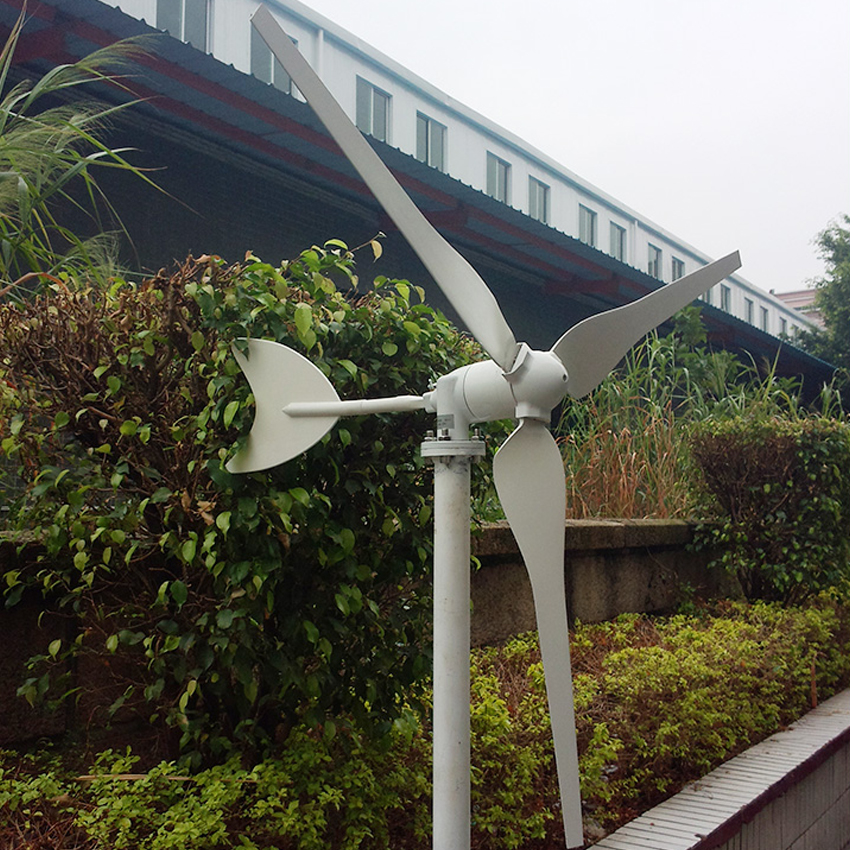 50W/100W Small Wind Turbine Generator 12V/24V 3-leaves Wind Controller Wind power Generator 1050r/m(P-50W) 860 r/m(P-100W)50W/100W Small Wind Turbine Generator 12V/24V 3-leaves Wind Controller Wind power Generator 1050r/m(P-50W) 860 r/m(P-100W)
