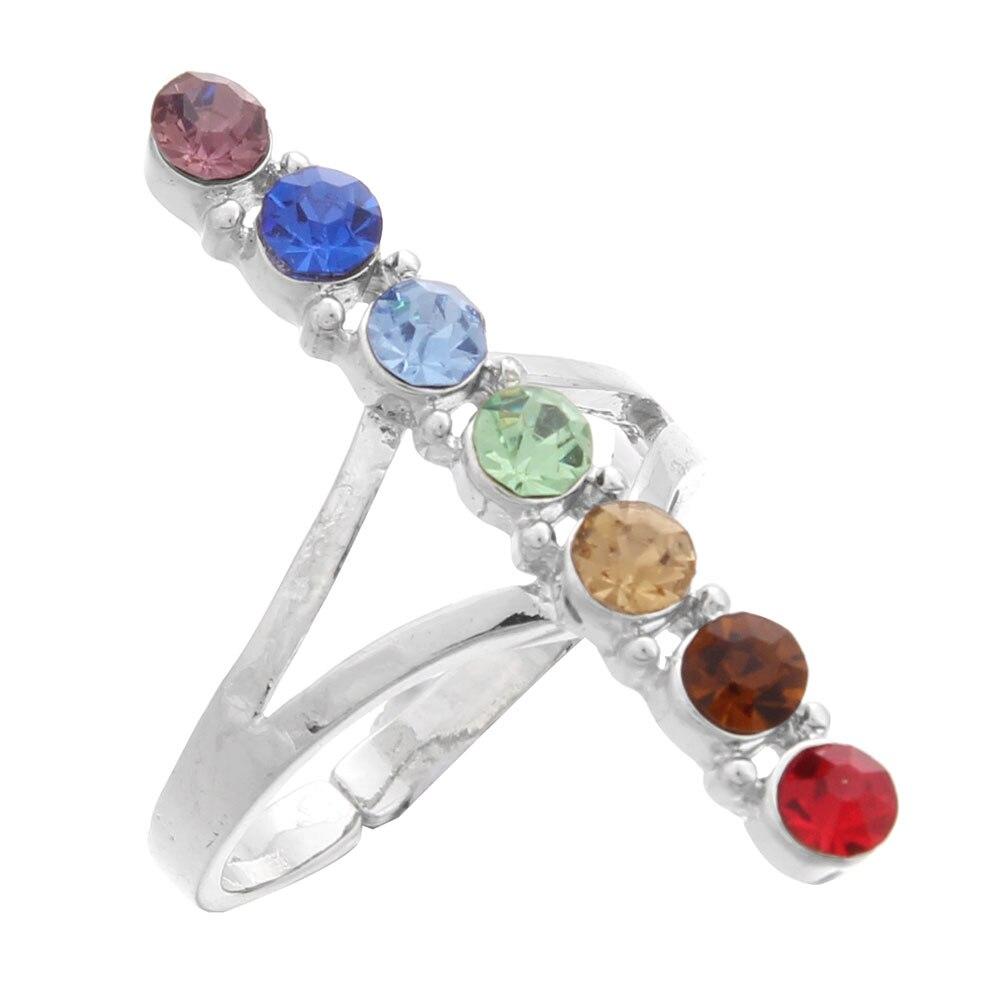 Meenanoom 29 1 Pair Elegant Women Fashion Rhinestone Ear Stud Earrings Crystal Chain