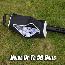 Портативный мешок для мяча для гольфа, трубка приемника, коллектор, сумка для мяча