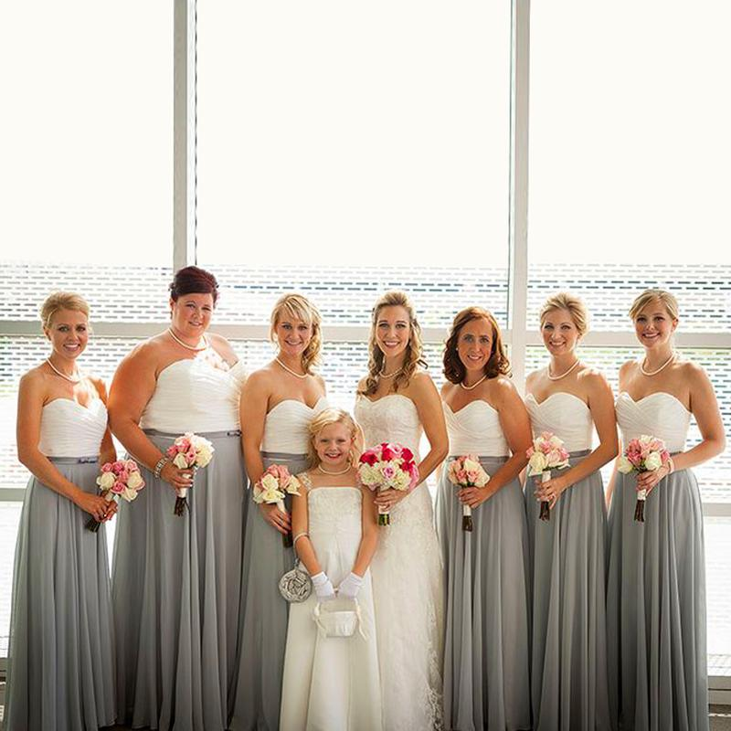 6fe069cdfd Buy gray bridesmaid dresses and get free shipping on AliExpress.com