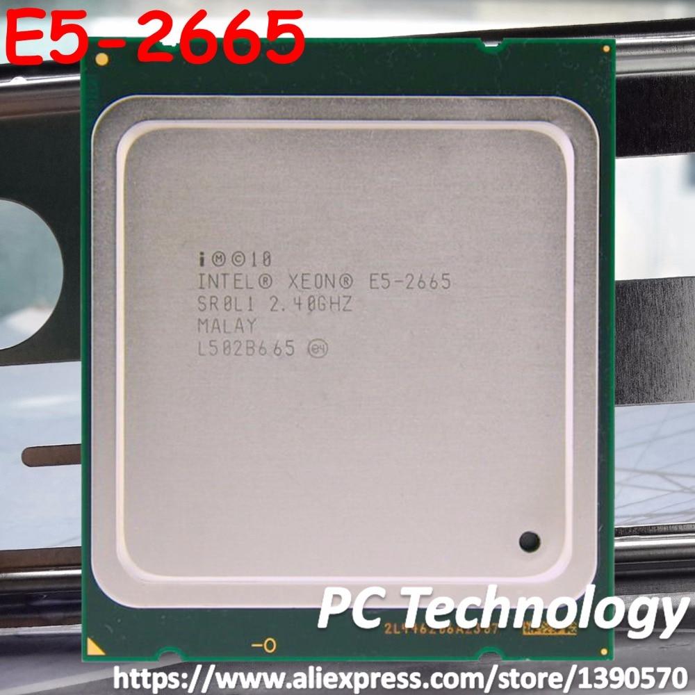 Original Intel Xeon cpu processor E5 2665 2 40GHz 8 Core 20MB SmartCache FCLGA2011 TPD 115W