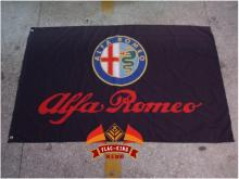 ALFA ROMEO racing flag, 90*150CM polyester  flag king brand banner