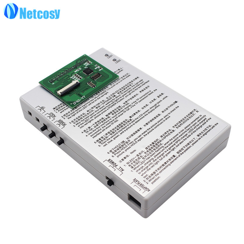 Netcosy 1 Set LCD screen test board LCD Tester repair parts For iphone 4 4S 5 5S 6 6Plus Wholescreen