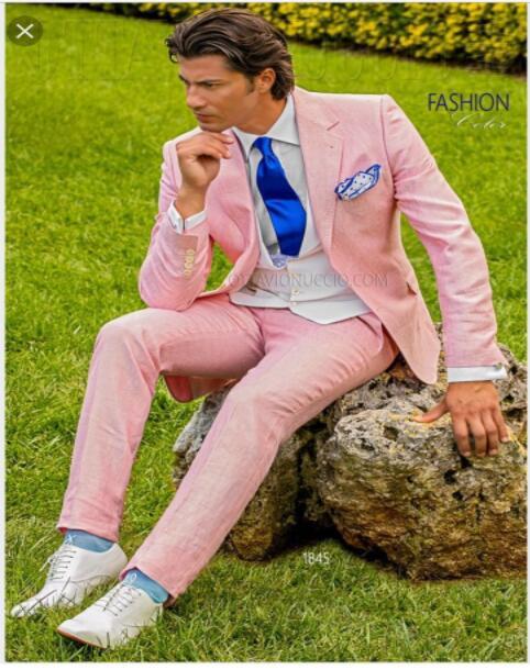 Smoking Hot Fit Casual Pantalon Dernière Mariage 2017 Personnalisé Masculino Costumes Hommes Manteau Blazer Pièce Pour De Slim As 3 Marié Same Linge Rose Image Designs ZIaxAwq